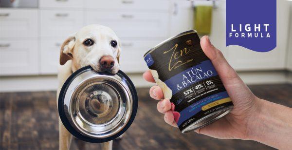 Lata paté para perro adulto de cualquier raza light a base de proteina de atun y bacalao premium grain free sin cereal