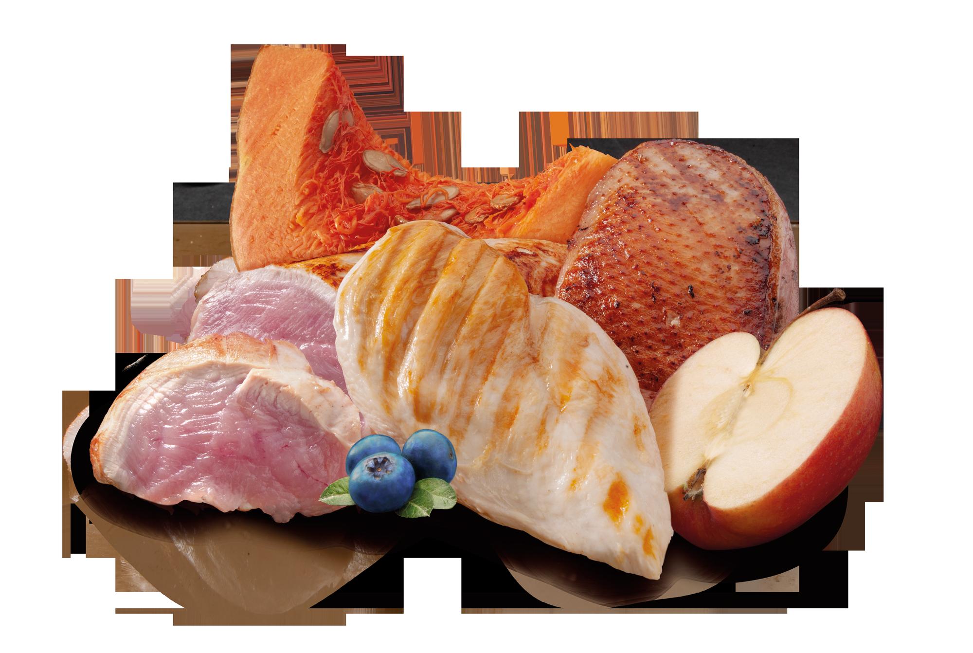 Auyama manzana carnes ingredientes de la receta de Zen natural Balanced Nutrition