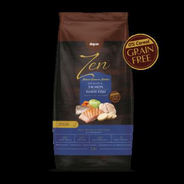 alimento seco perro adulto mini salmon white fish pescado blanco sin cereal grain free alimentacion premium mascotas