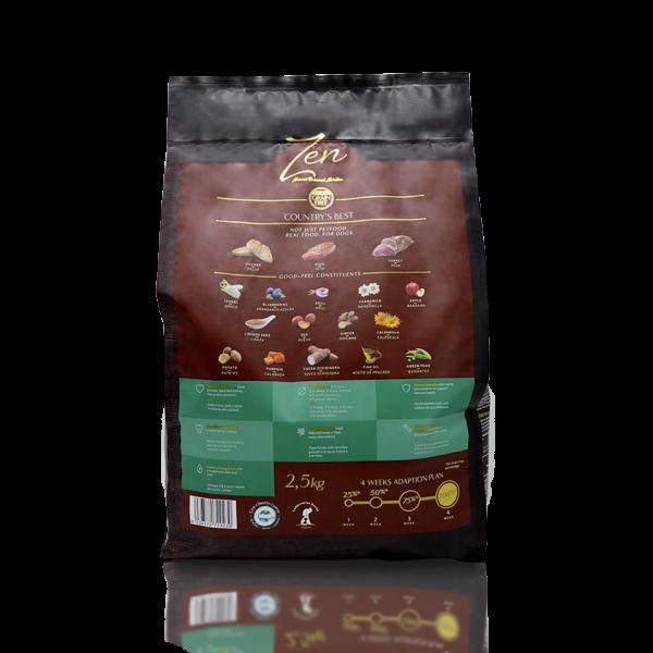 alimento seco perro adulto chicken duck turkey pollo pato pavo sin cereal grain free alimentacion premium mascotas