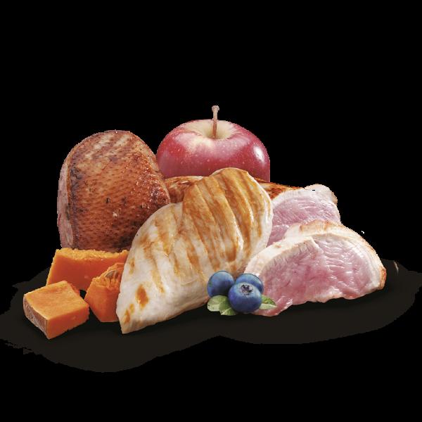 nutricion mascotas ingredientes turkey duck chicken pollo pavo pato sin cereal premium comida humeda lata cachorros cachorro puppies puppy