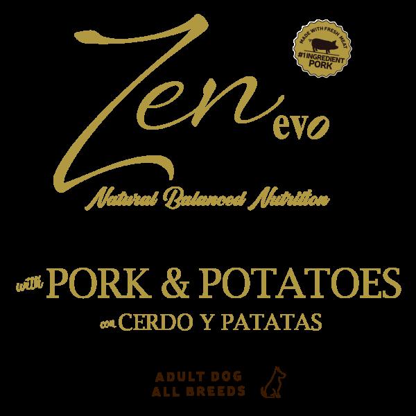 pork potatoes fresh meat tabla nutricional chuche treats perros mascotas premium