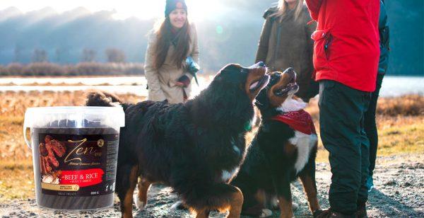 Zen snacks ideales para perro con carne de buey carne de ternera